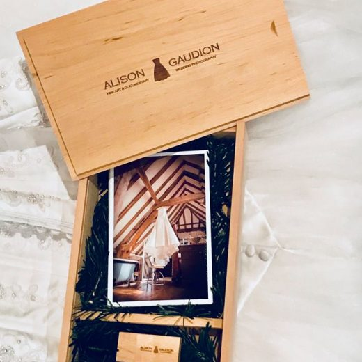Wooden Photography USB Box