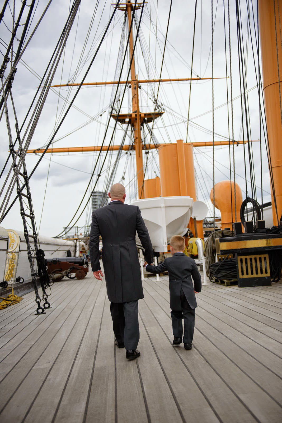 WEDDING PHOTOGRAPHER HMS WARRIOR III