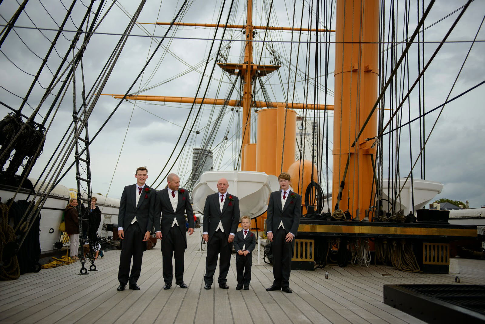 WEDDING PHOTOGRAPHER HMS WARRIOR IIJ