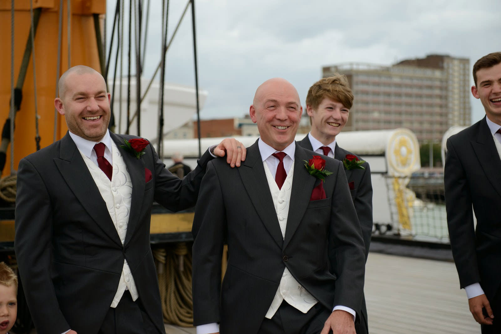 WEDDING PHOTOGRAPHER HMS WARRIOR IIK