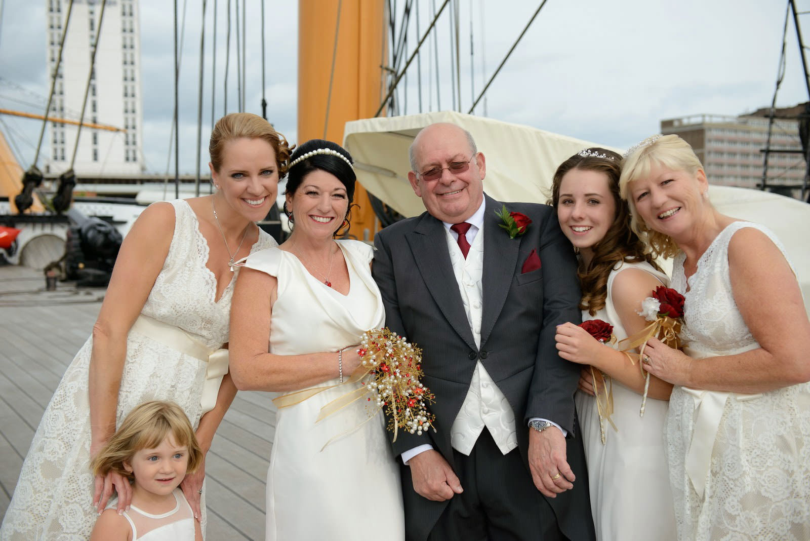 WEDDING PHOTOGRAPHER HMS WARRIOR IIN