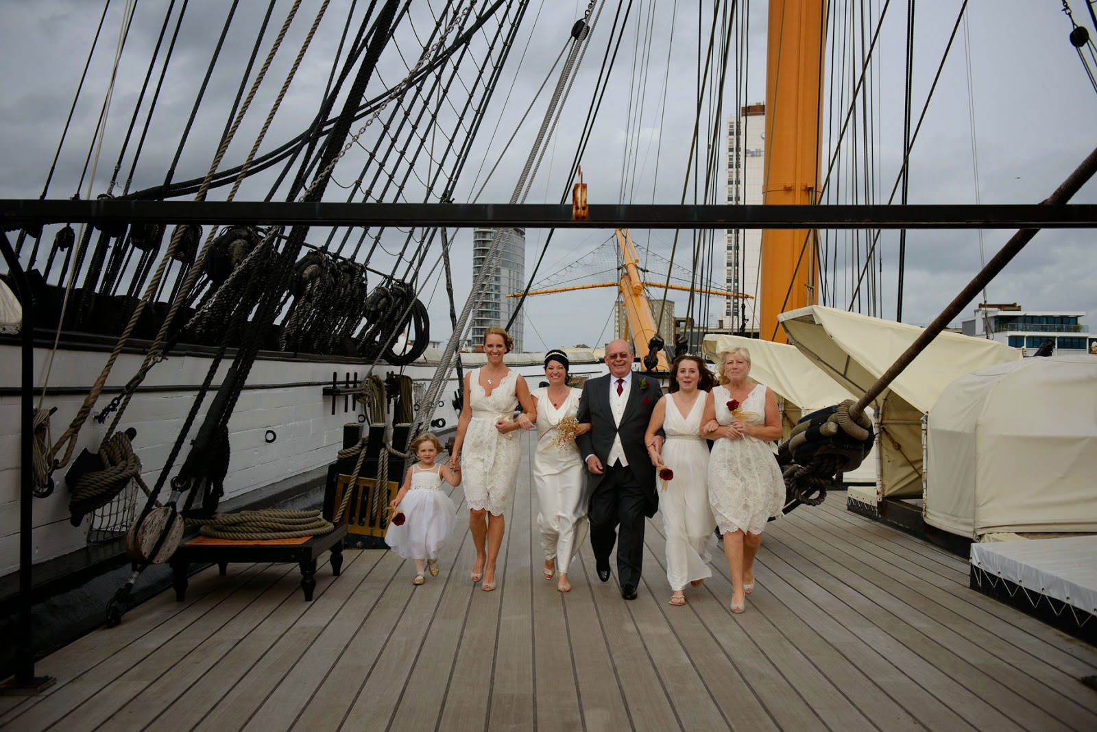 WEDDING PHOTOGRAPHER HMS WARRIOR IIO
