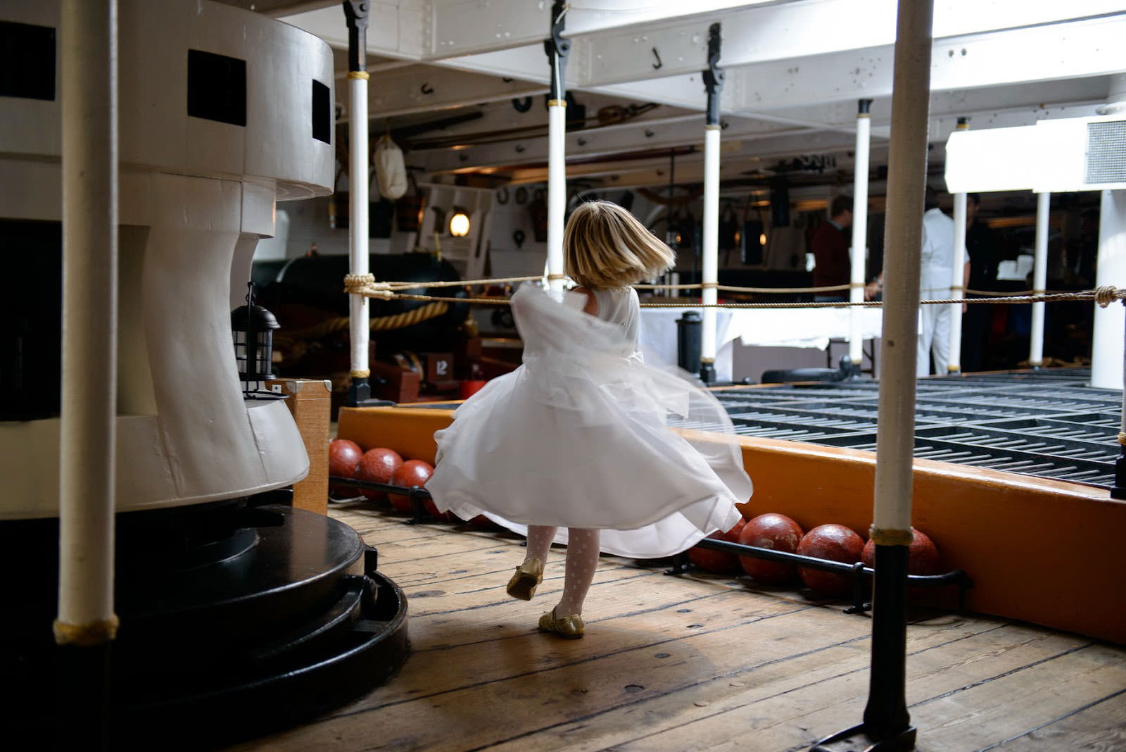 WEDDING PHOTOGRAPHER HMS WARRIOR IIP
