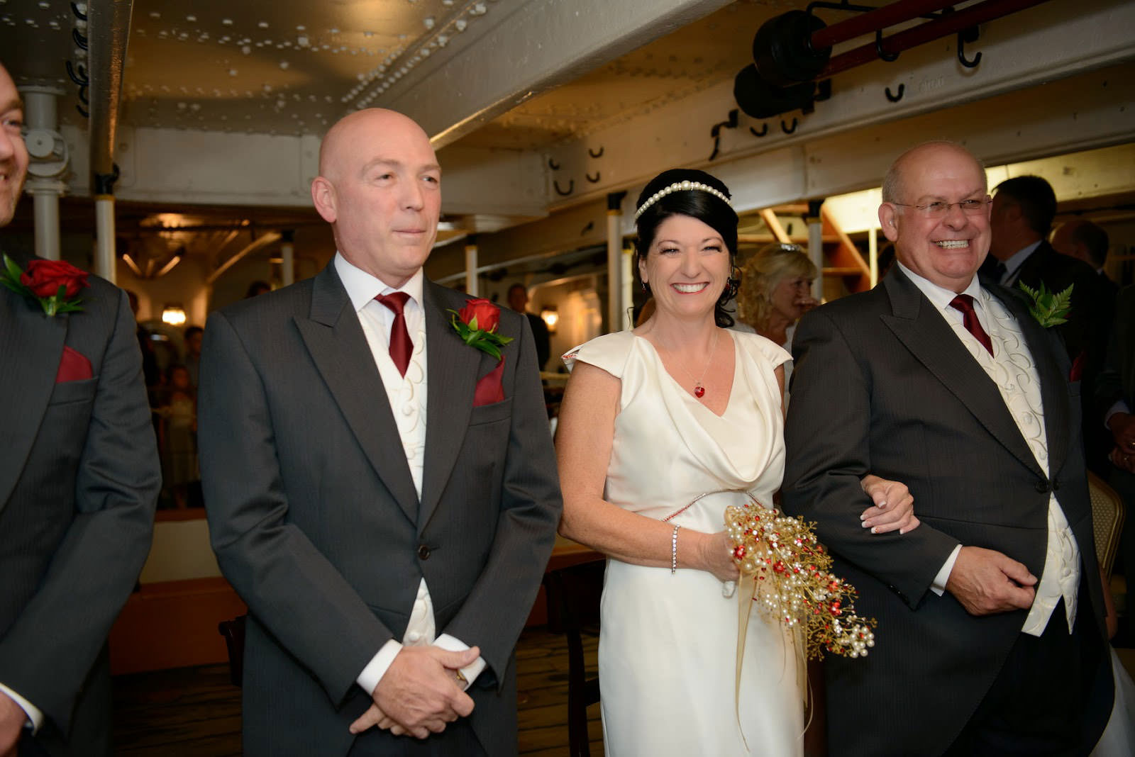 WEDDING PHOTOGRAPHER HMS WARRIOR IIQ