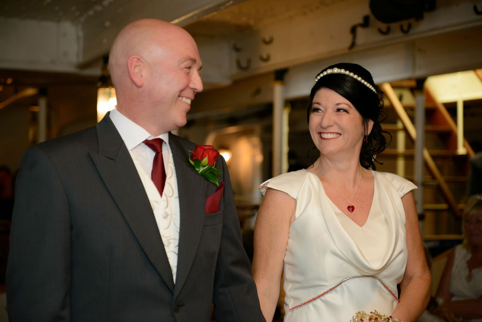 WEDDING PHOTOGRAPHER HMS WARRIOR IIR
