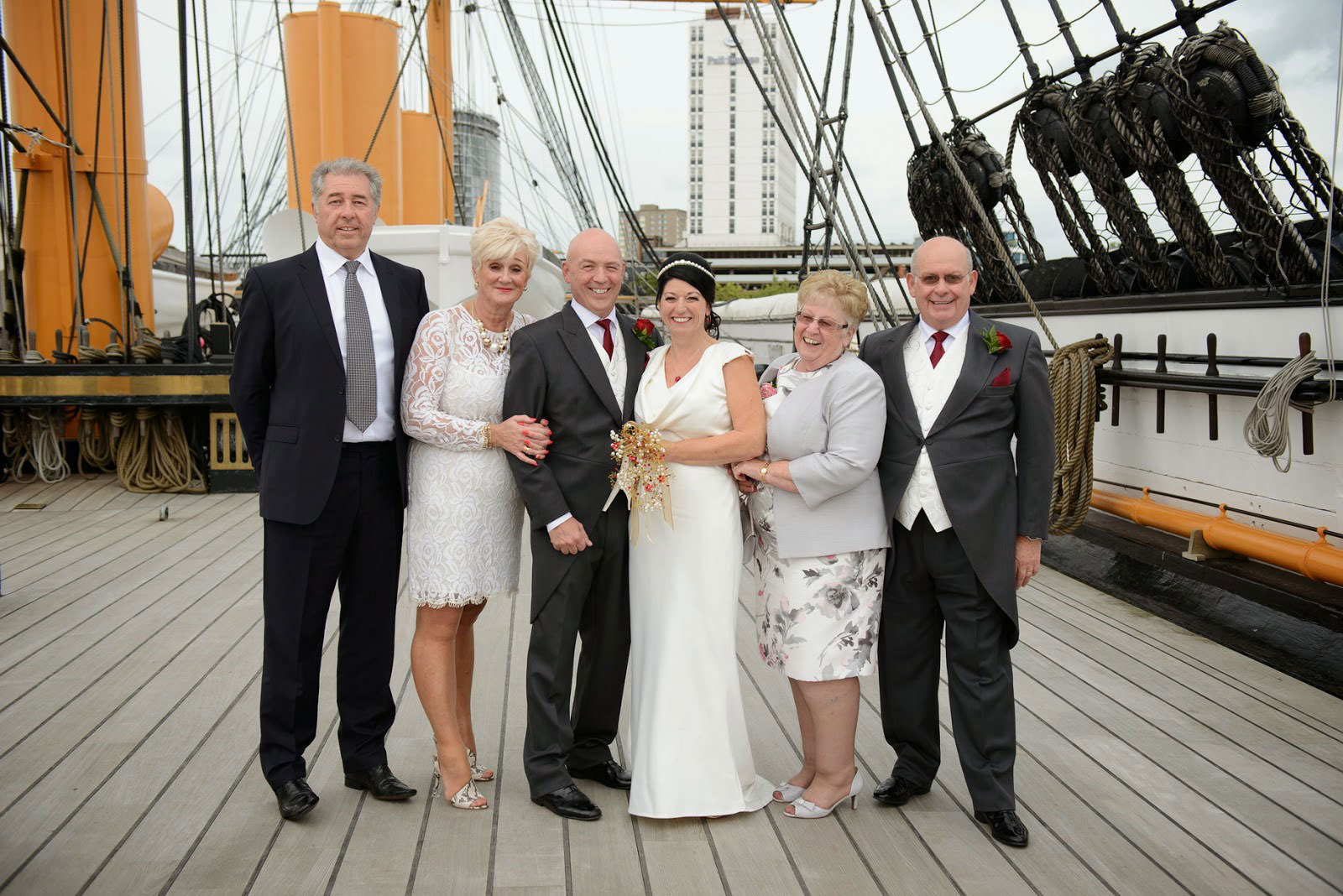 WEDDING PHOTOGRAPHER HMS WARRIOR IIU