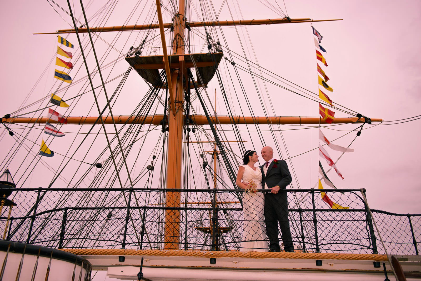 WEDDING PHOTOGRAPHER HMS WARRIOR IIV