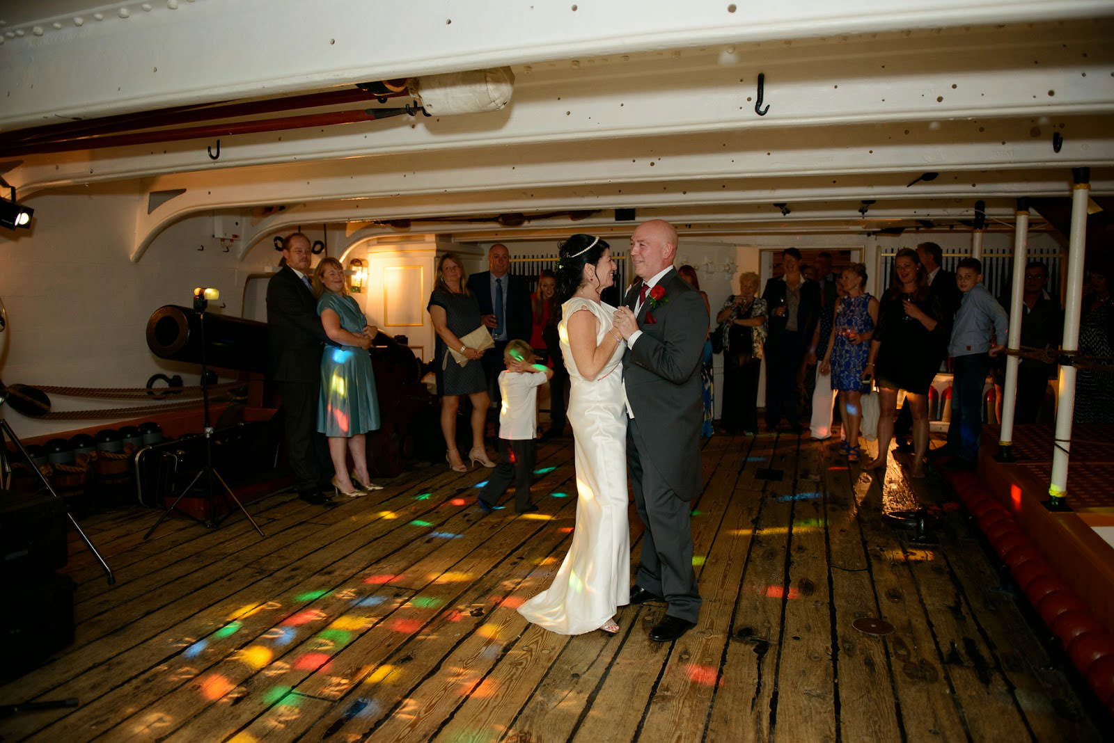 WEDDING PHOTOGRAPHER HMS WARRIOR IIZ