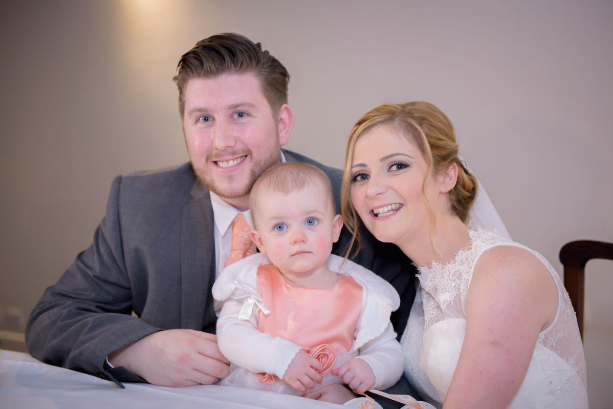Family Wedding with Baby