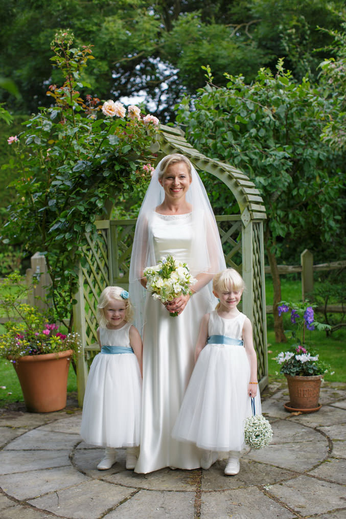 Bride and Bridesmaids in Chichester