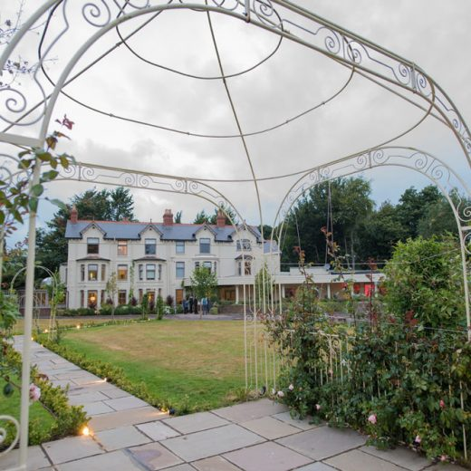 southdowns manor house wedding venue outside view grand house