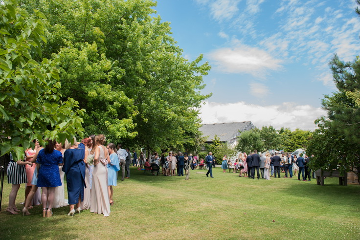 photography of wedding guests in west sussex