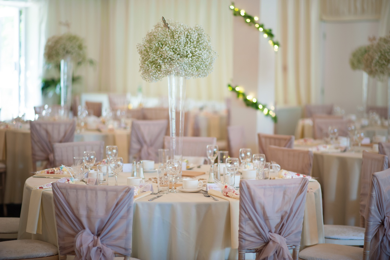 lilac wedding theme