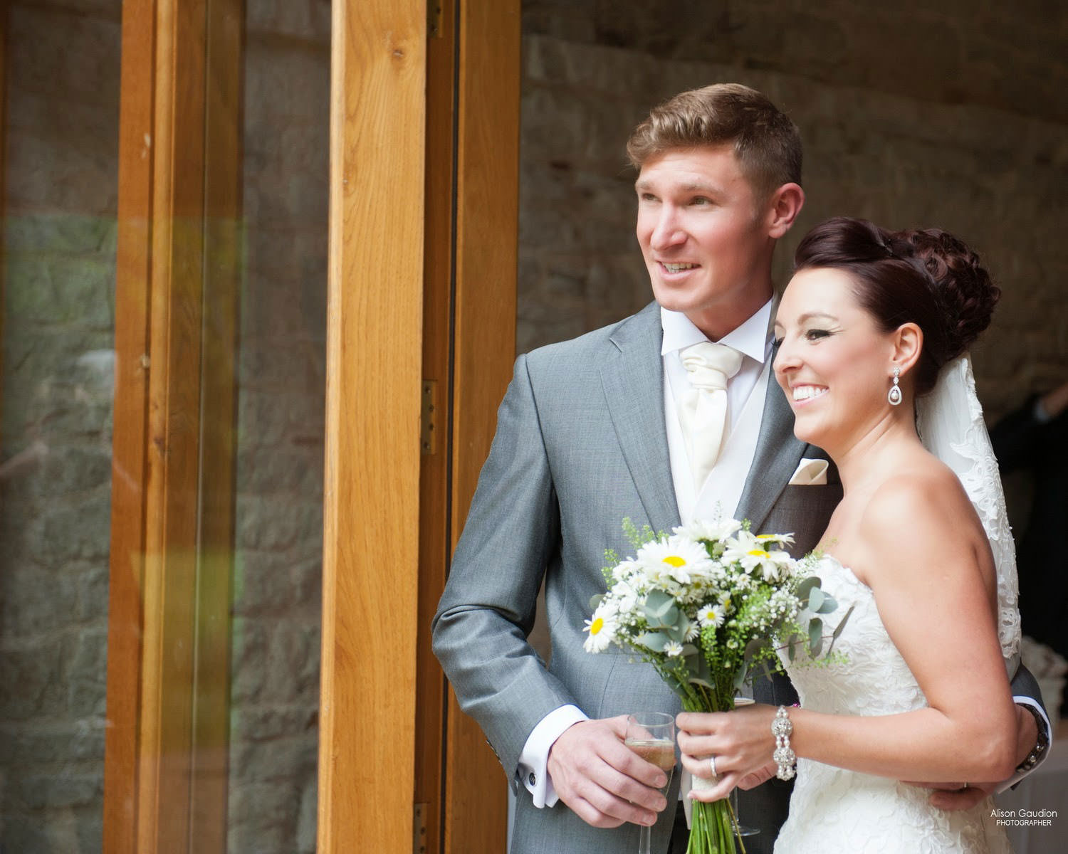 the tithe barn wedding photographer 13