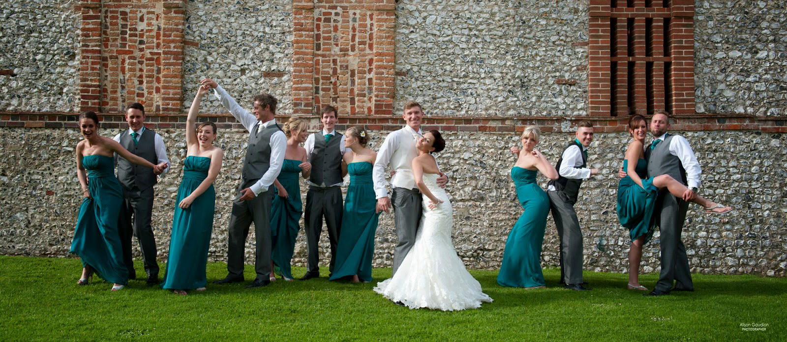 the tithe barn wedding photographer 34