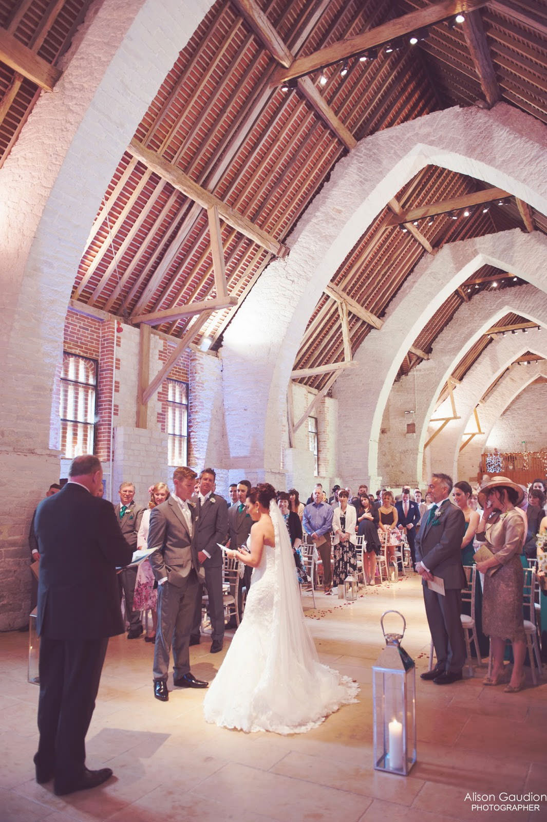the tithe barn wedding photographer 9