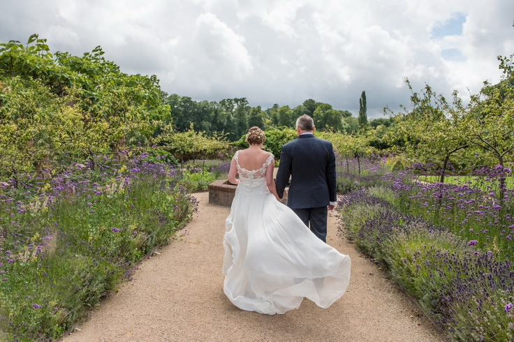 walled garden outdoor and indoor wedding venue midhurst cowdray