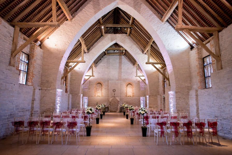 gothic luxury indoor barn venue